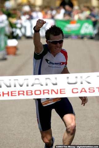 Andy Blow Sherborne Ironman Finish