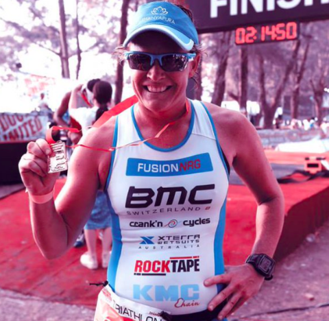 Pro triathlete dimity lee duke