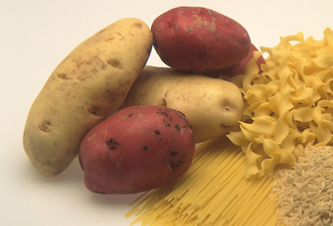 Potatoes and Pasta are good in the run up to a triathlon