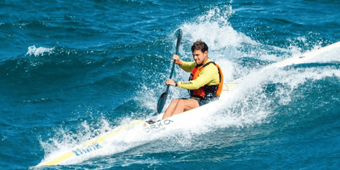 Sean Rice surfski world champion