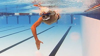 SwimSmooth straight arm catch and pull