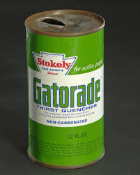 Early Gatorade can