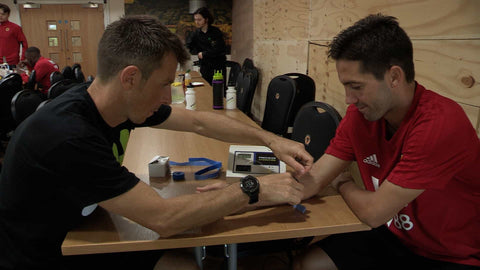 Andy Sweat Testing Wolves' Joao Moutinho