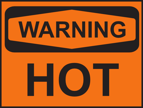 Warning, hot!