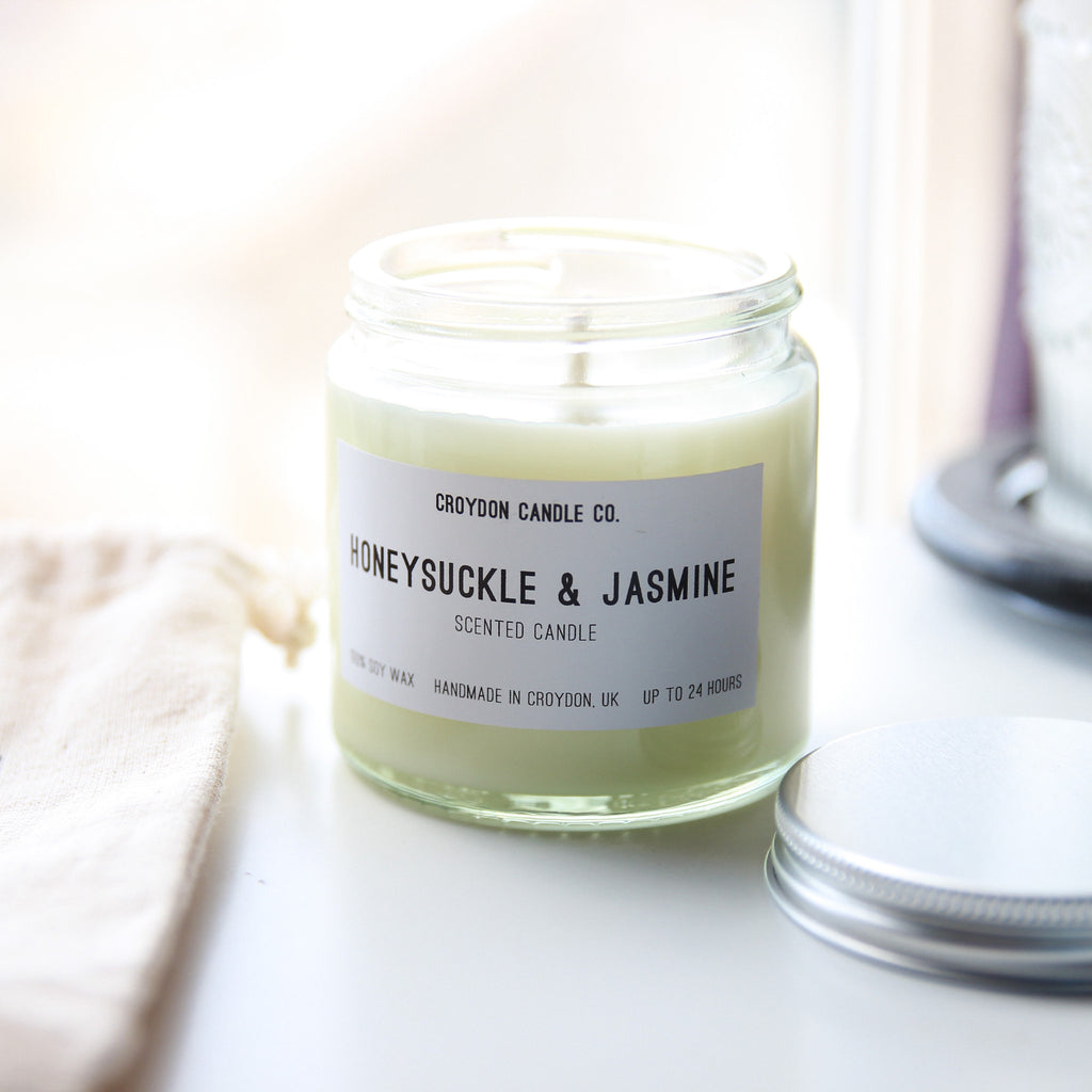 Honeysuckle & Jasmine Soy Candle