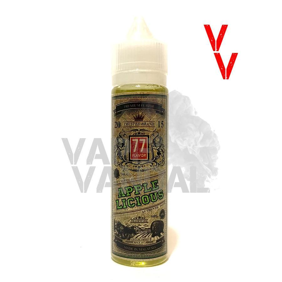 77 Flavor Local E-Juice 3mg 77 Flavor - Applelicious