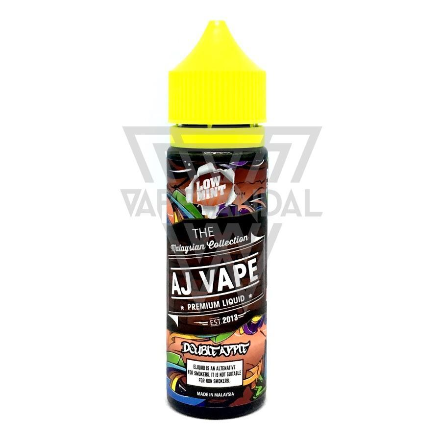 AJ Vape - Double Apple (Low Mint Series) - Vape Vandal - Malaysia's #1 vape e-juice store