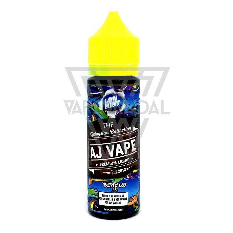 AJ Vape Local E-Juice 3mg AJ Vape - Triple Two 222 (Low Mint Series)