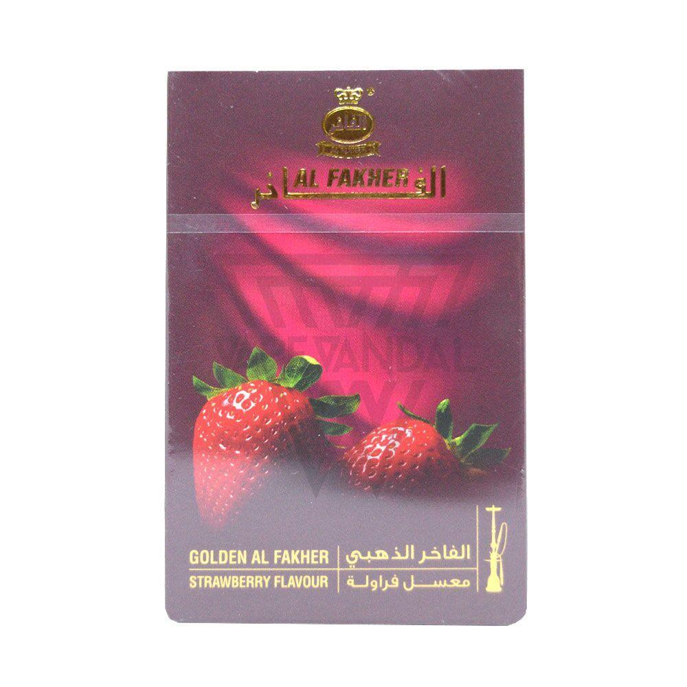 Golden Al-Fakher - Strawberry Shisha Flavour