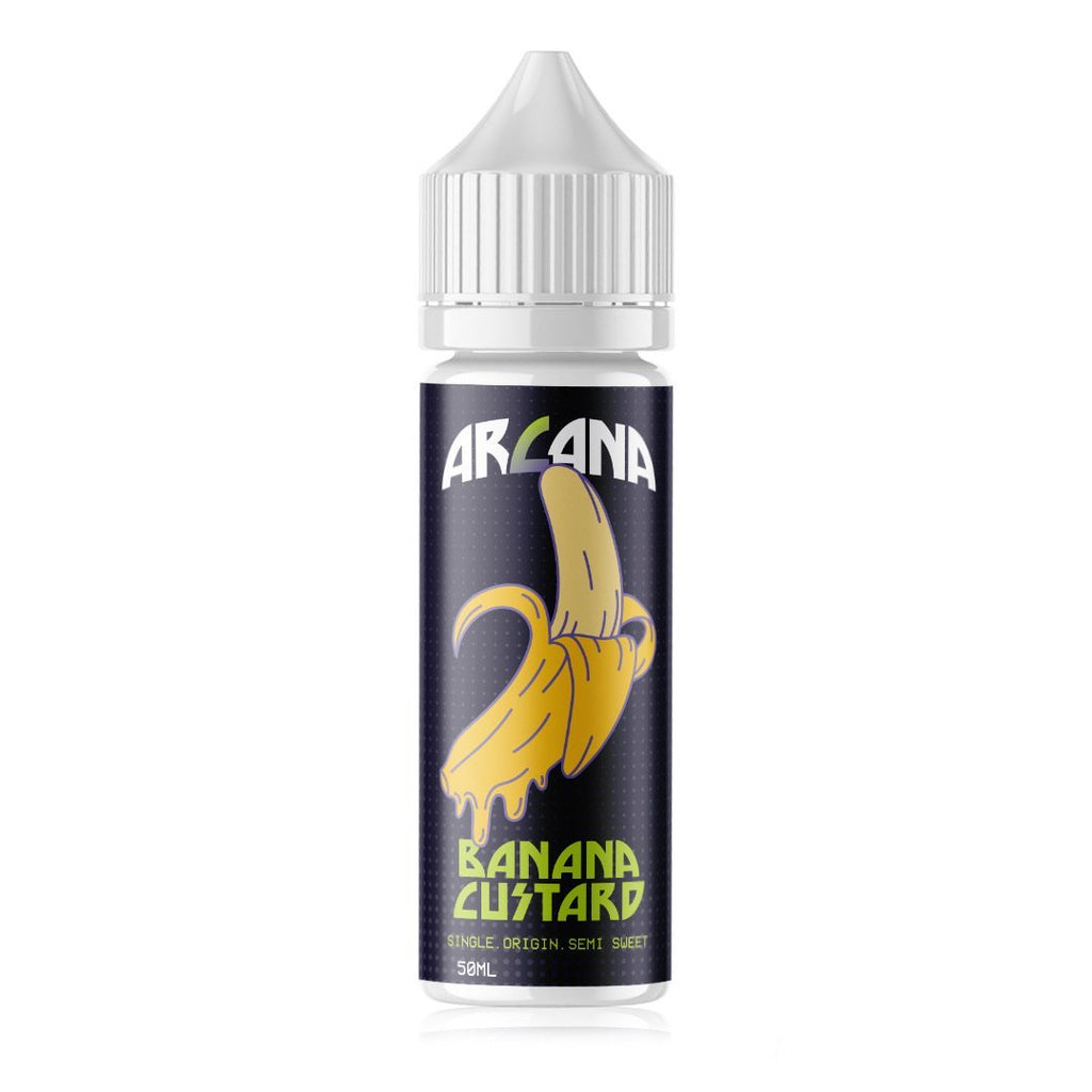 Arcana Local E-Juice Arcana - Banana Custard