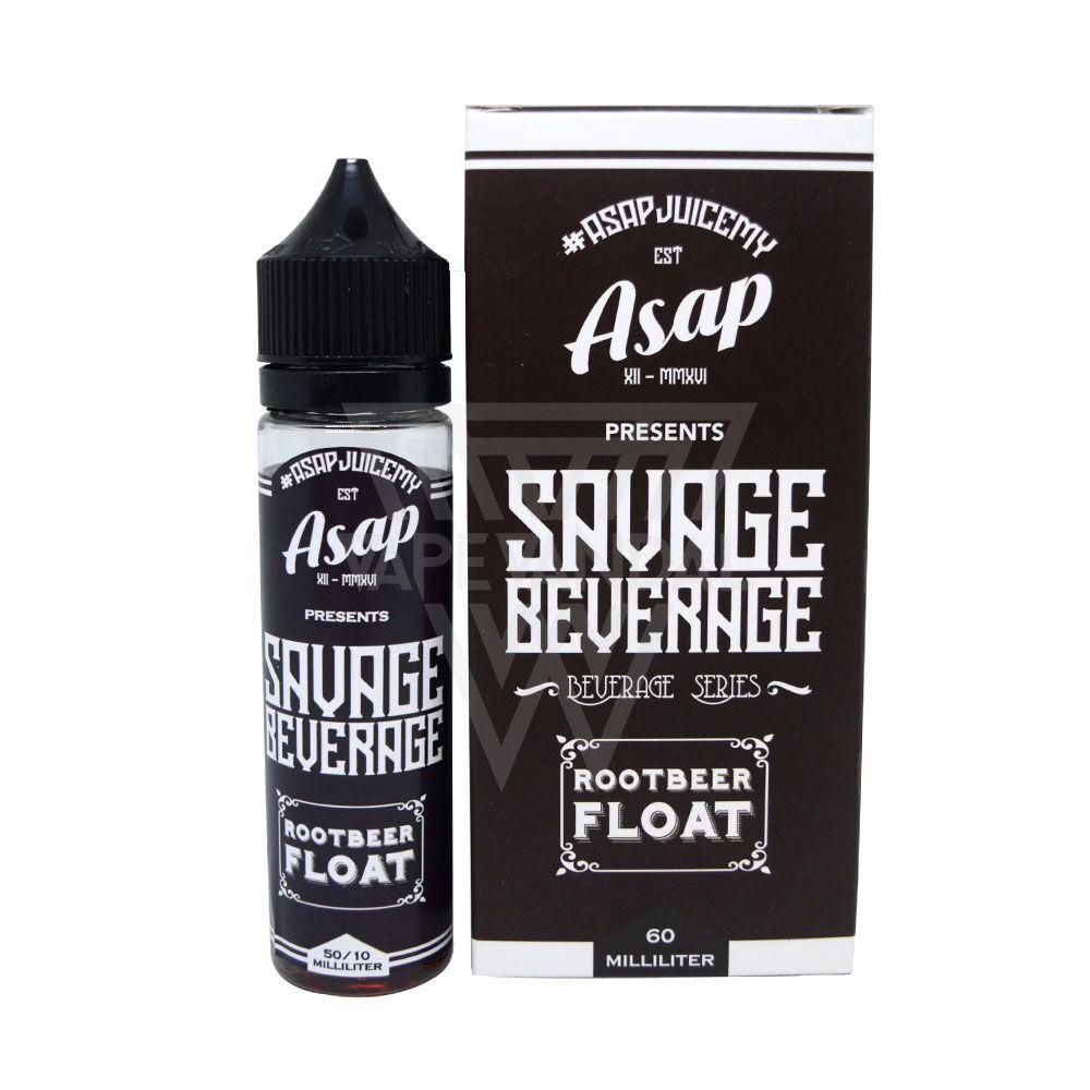 ASAP Juice - Root Beer Float (Savage Beverage series) - Vape Vandal - Malaysia's #1 vape e-juice store
