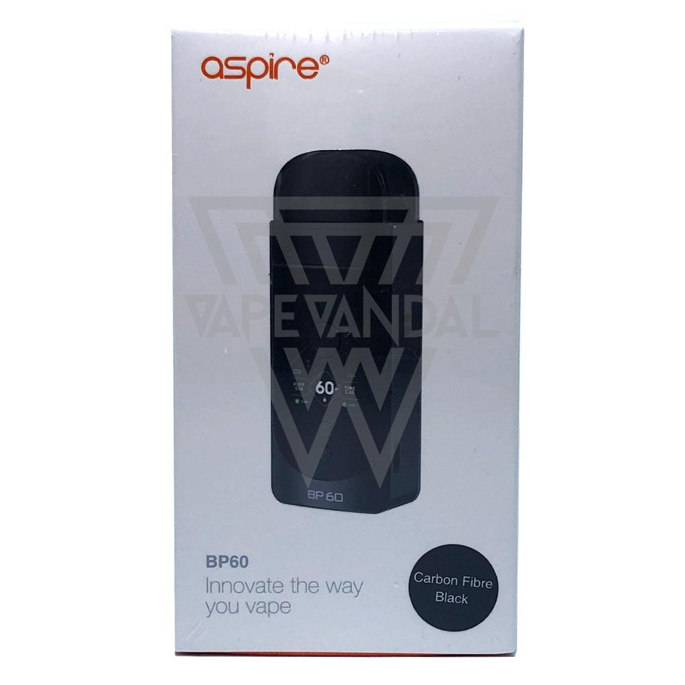 Aspire Pod Carbon Fibre Black Aspire - BP60 Starter Kit