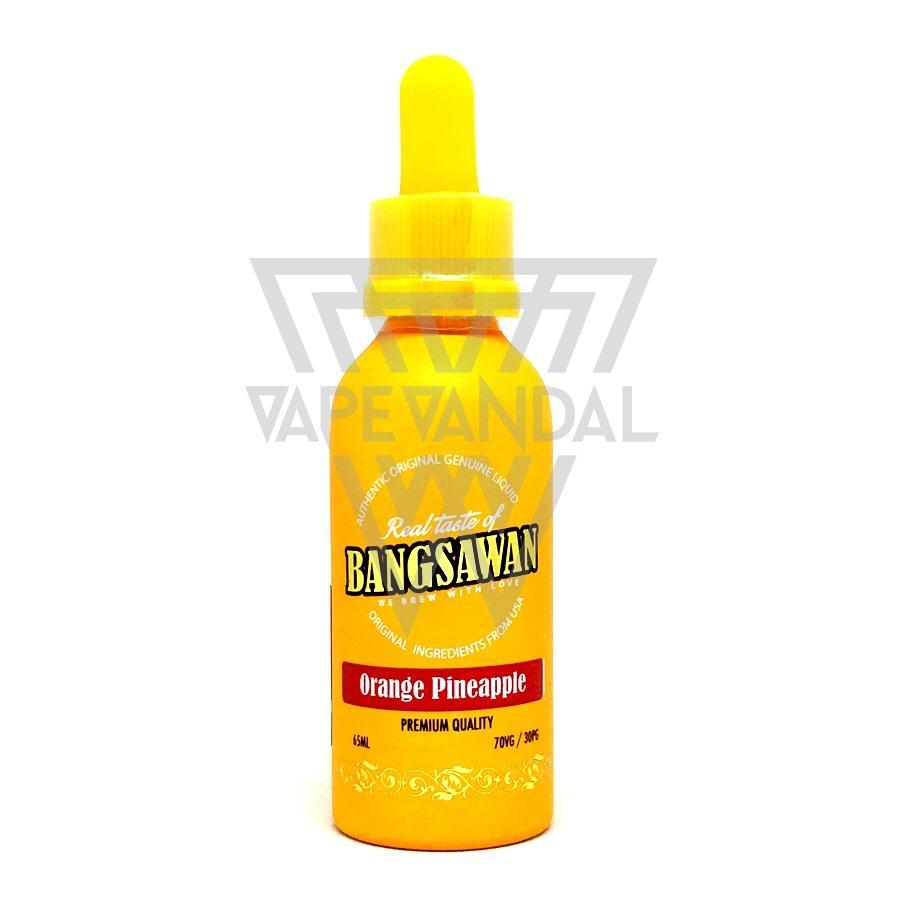 Bangsawan (Yellow) - Orange Pineapple - Vape Vandal - Malaysia's #1 vape e-juice store