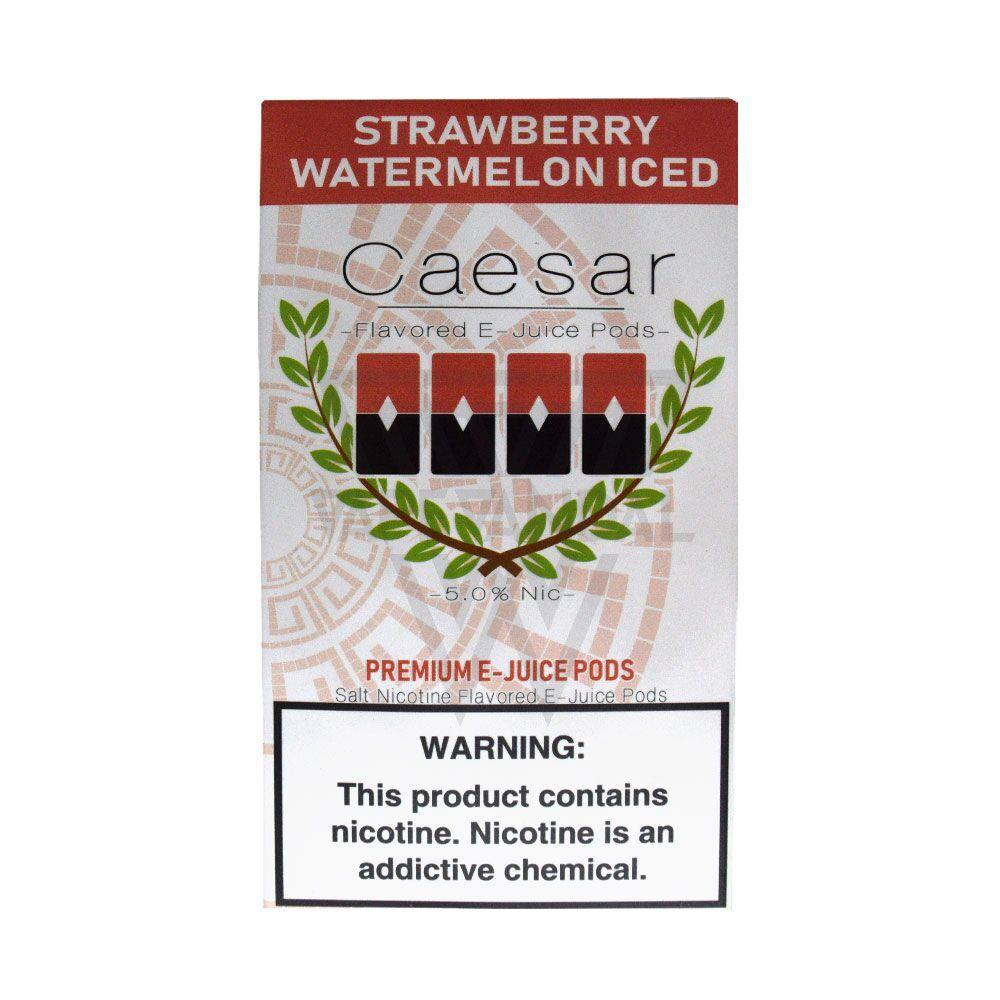 Caesar - Strawberry Watermelon Iced (Juul Compatible) - Vape Vandal - Malaysia's #1 vape e-juice store