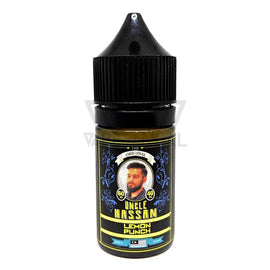 Cloudy Heaven Local Salt Nicotine E-Juice 35mg Uncle Hassan - Lemon Punch Salt Nicotine