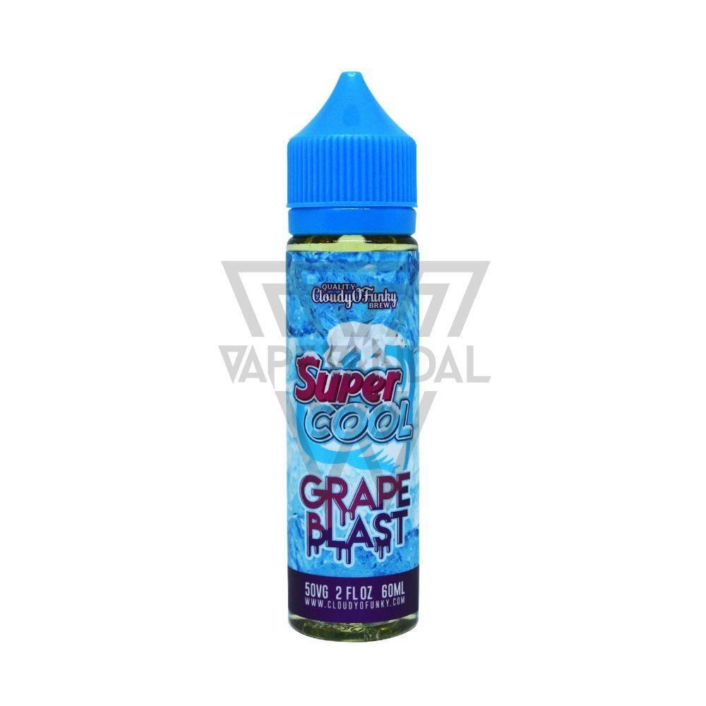 Cloudy O Funky - Super Cool Grape Blast - Vape Vandal - Malaysia's #1 vape e-juice store