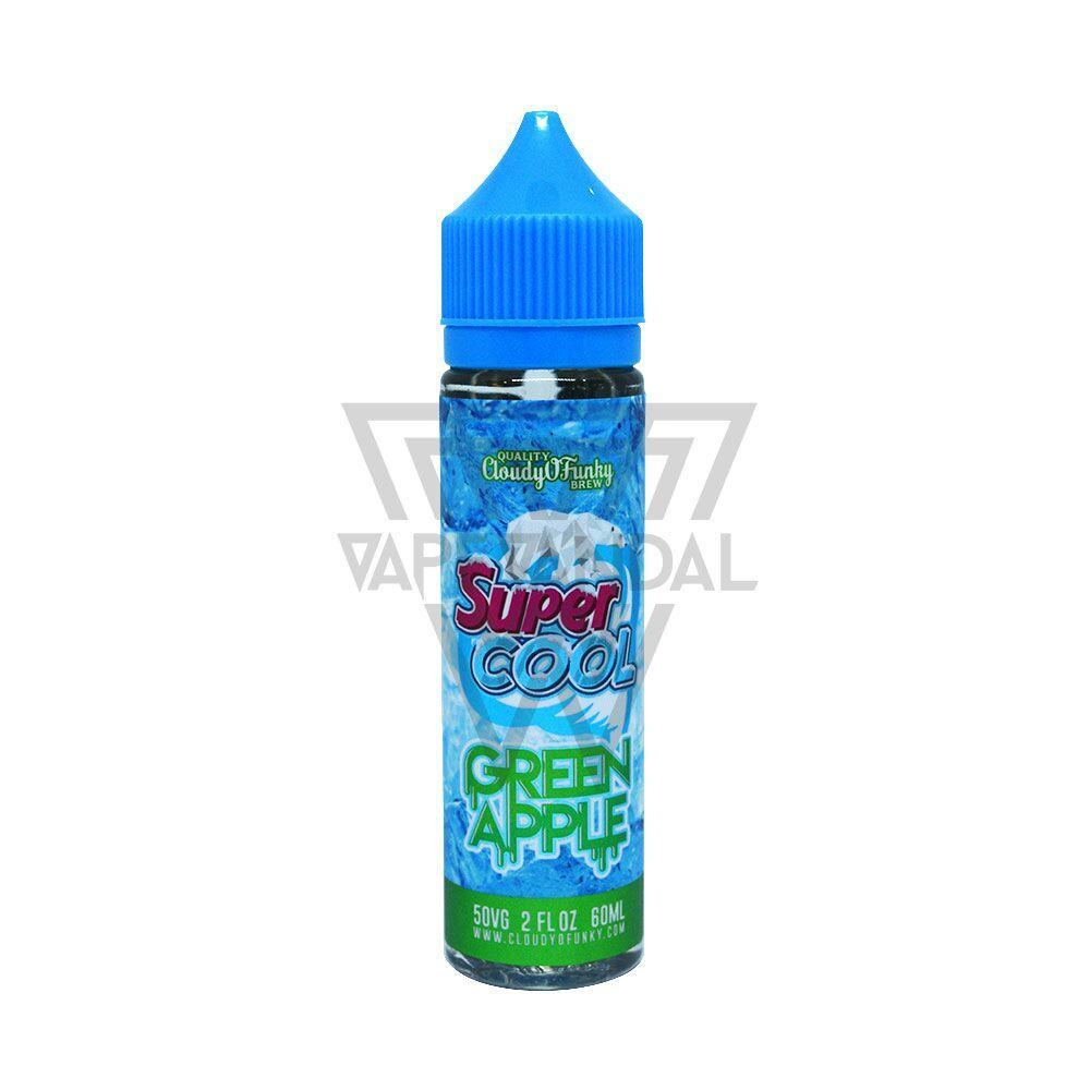 Cloudy O Funky - Super Cool Green Apple - Vape Vandal - Malaysia's #1 vape e-juice store