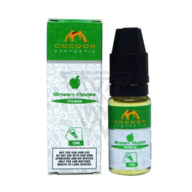 Cocoon Synthetic Local Salt Nicotine E-Juice 35mg Cocoon Synthetic - Green Apple Salt Nicotine