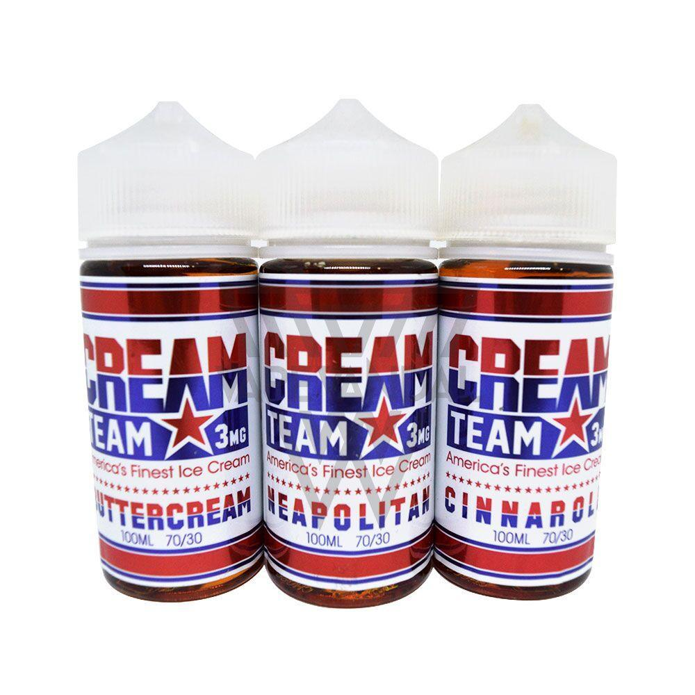 Cream Team (US) - Sampler Bundle - Vape Vandal - Malaysia's #1 vape e-juice store