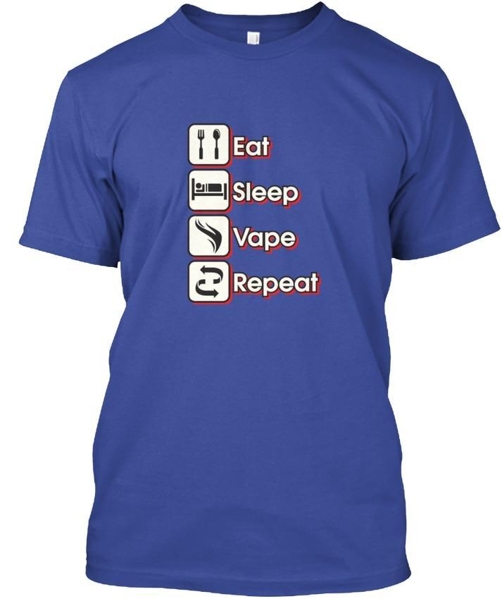 Curated by VV - Eat-Sleep-Vape-Repeat T-Shirt (FREE SHIPPING) - Vape Vandal - Malaysia's #1 vape e-juice store