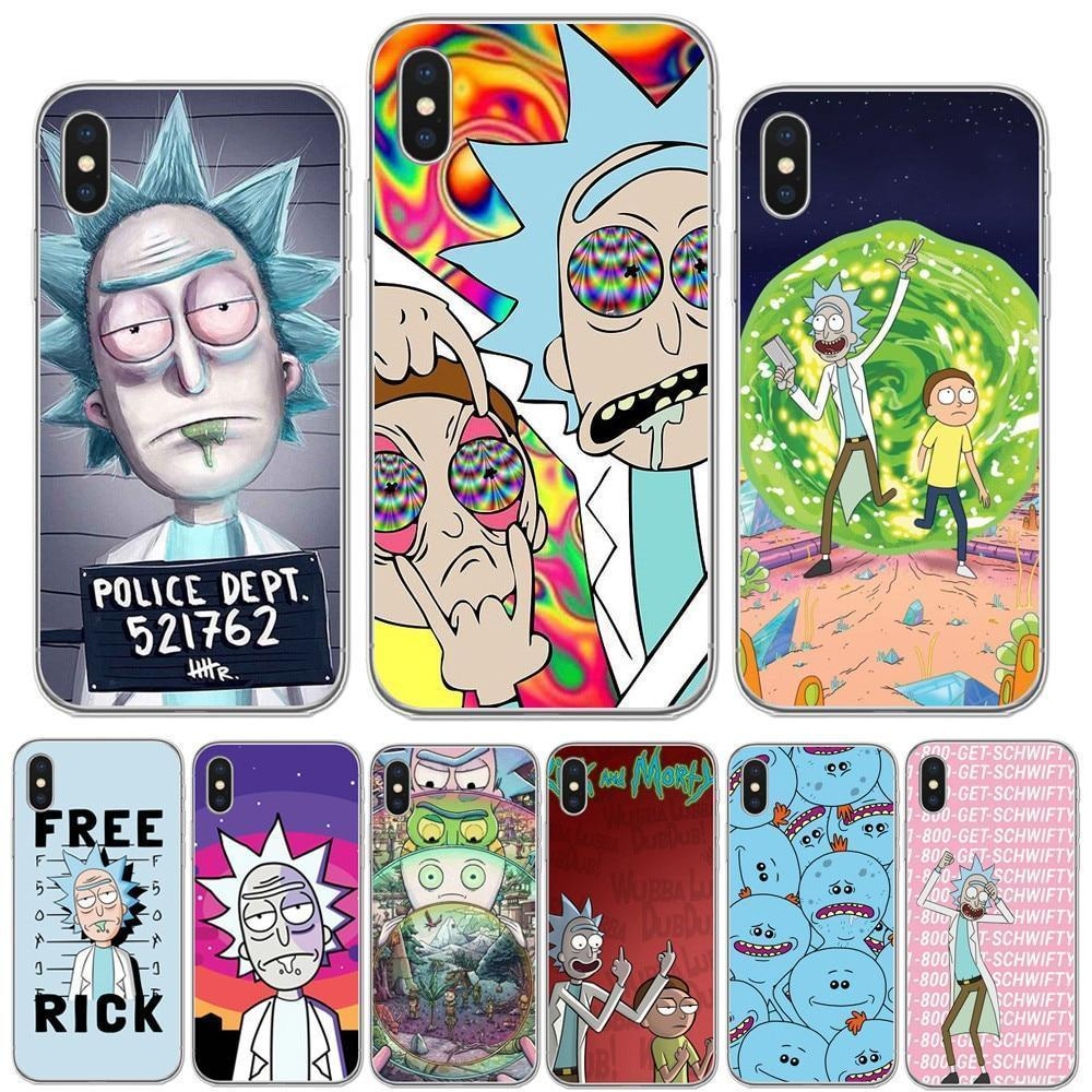 check out 34afc 8f0b5 Curated by VV - Rick And Morty Phone Case for iPhone (Series 1) (FREE  SHIPPING)