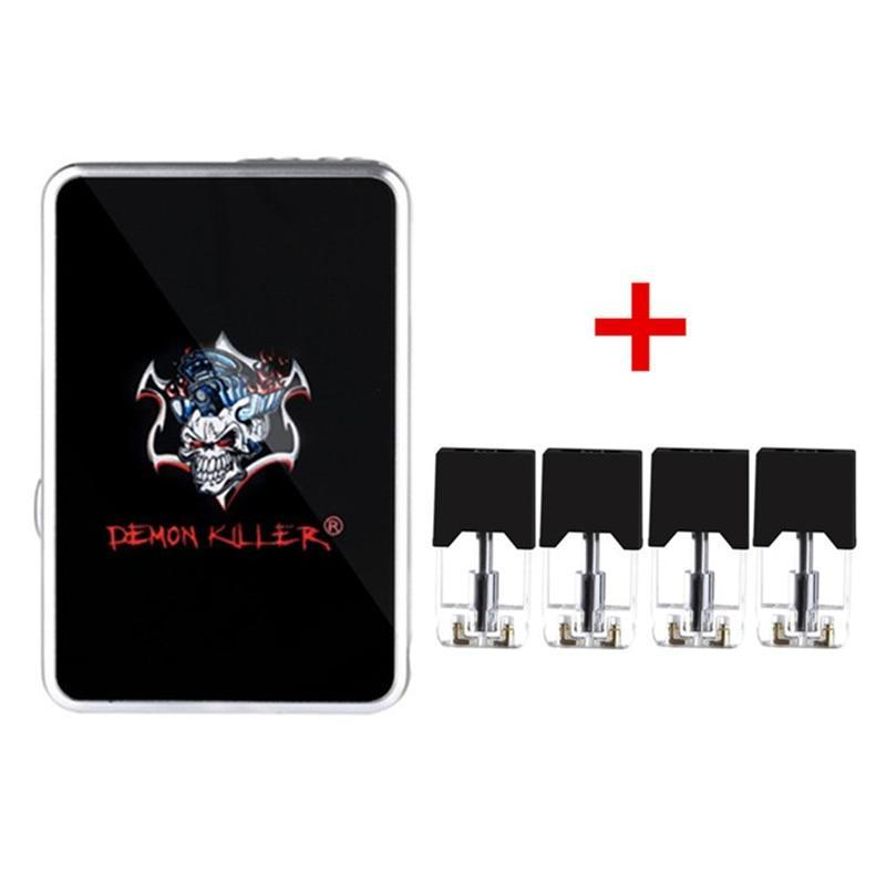 Demon Killer Mod MOD black Demon Killer - JBOX Mod with 4pcs Cartridge (FREE SHIPPING)