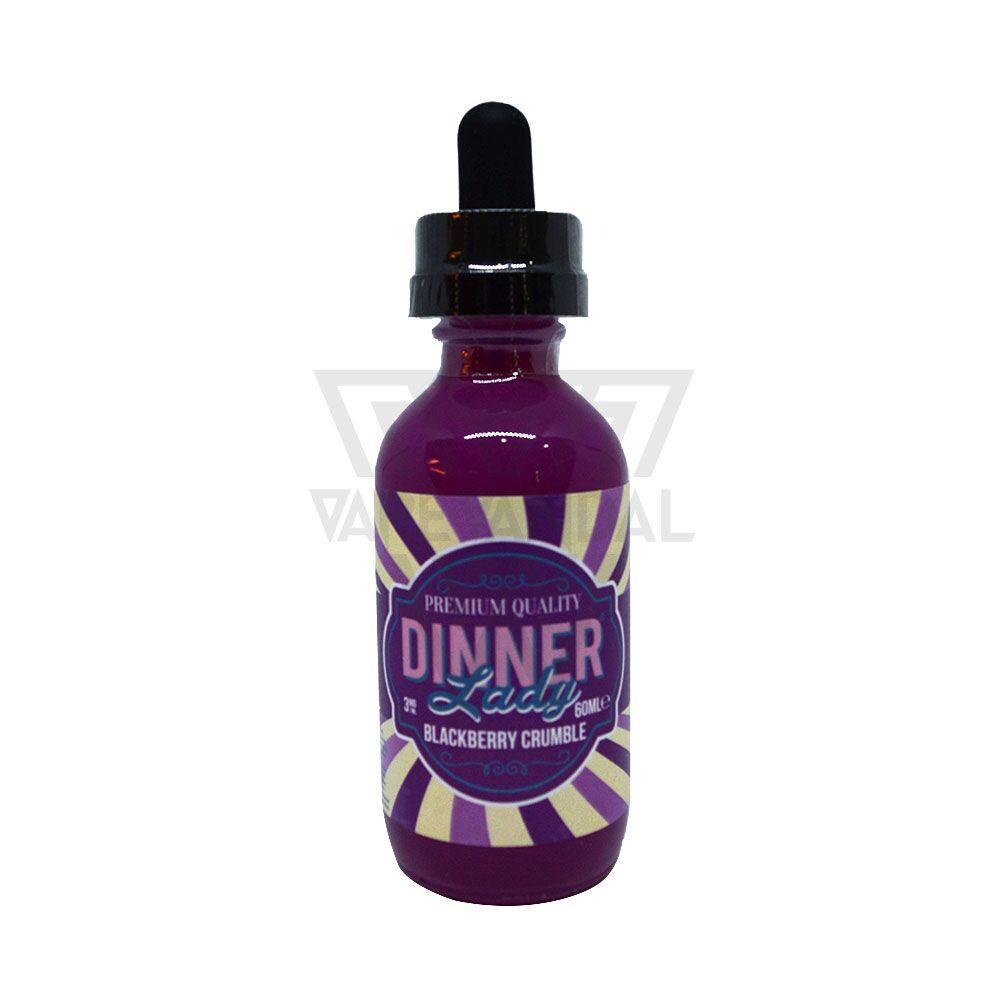 Dinner Lady Imported E-Juice (US) 3mg Dinner Lady - Blackberry Crumble