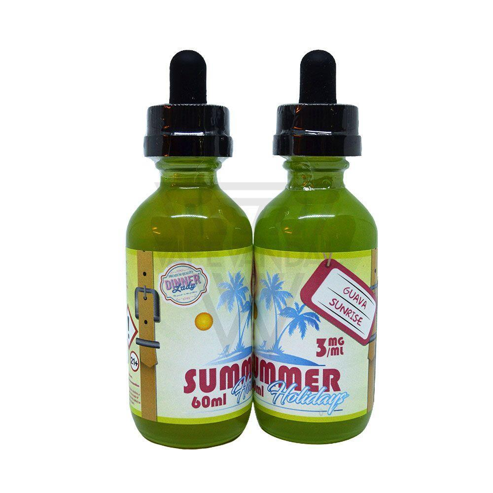 Dinner Lady Imported E-Juice (US) 3mg Dinner Lady - Guava Sunrise (Summer Holidays)