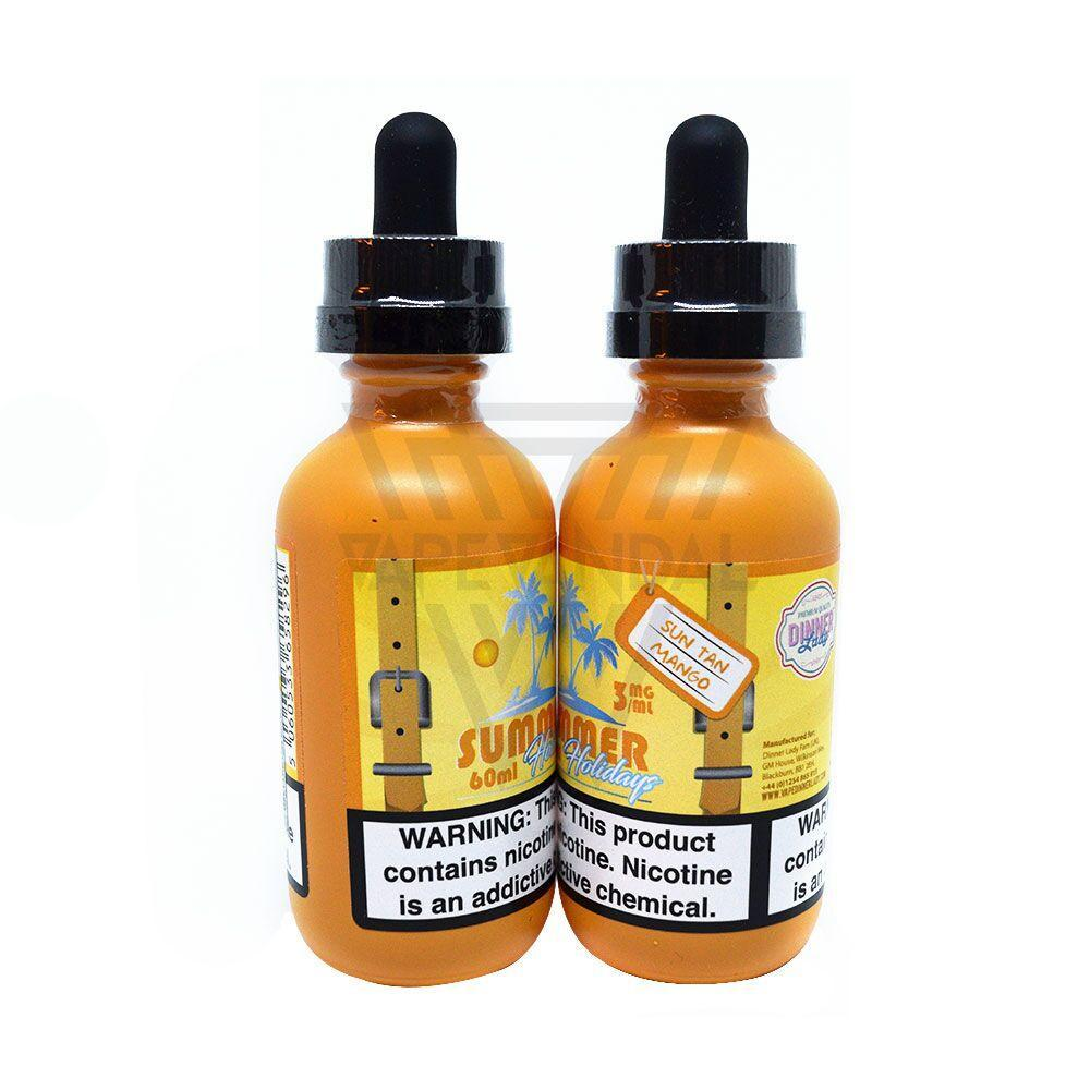 Dinner Lady Imported E-Juice (US) 3mg Dinner Lady - Sun Tan Mango (Summer Holidays)