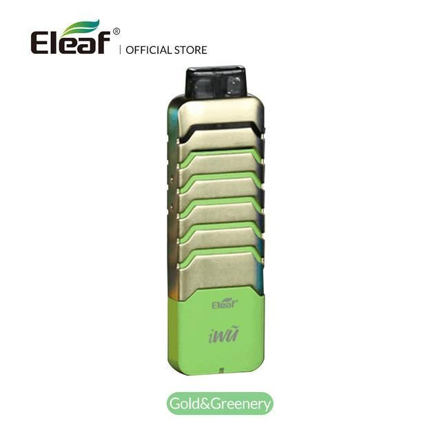 Eleaf Pod Gold Greenery / 700mAh Eleaf - iWu Pod Starter Kit (FREE SHIPPING)