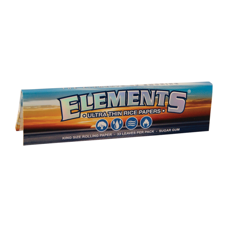 Elements MJ Accessories 1 Booklet Elements - King Size Slim