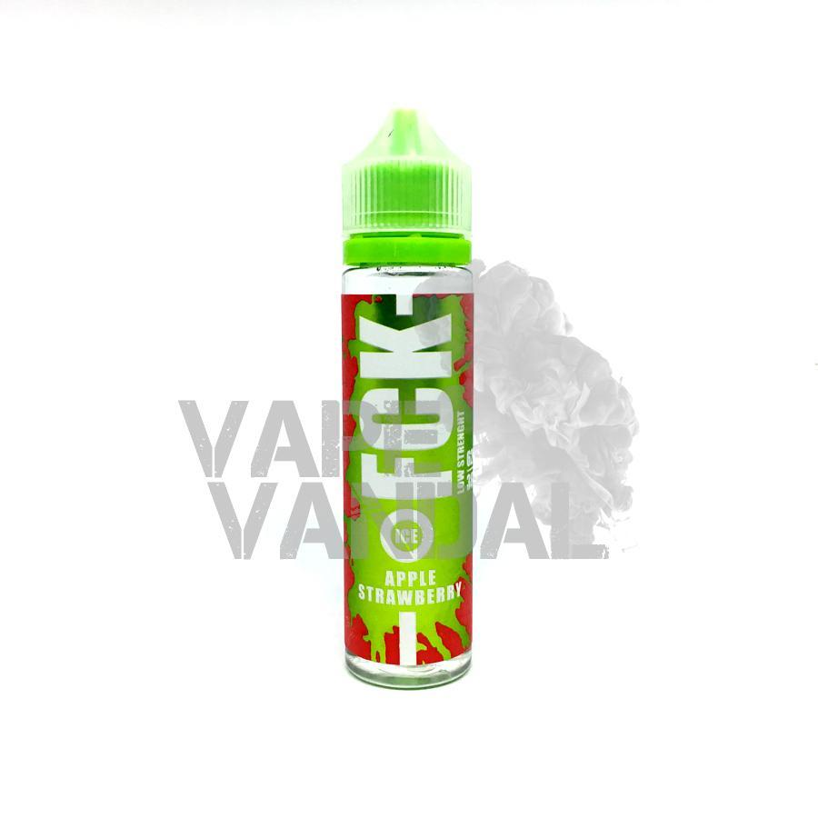 FCK Local E-Juice 3mg FCK - Apple Strawberry (Ice)