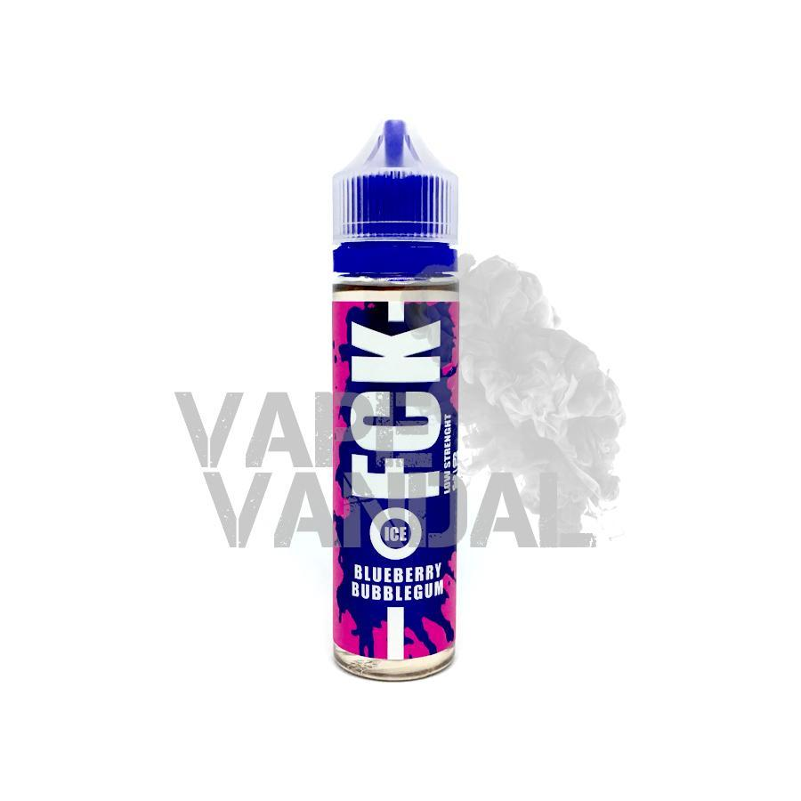 FCK Local E-Juice 3mg FCK - Blueberry Bubblegum (Ice)