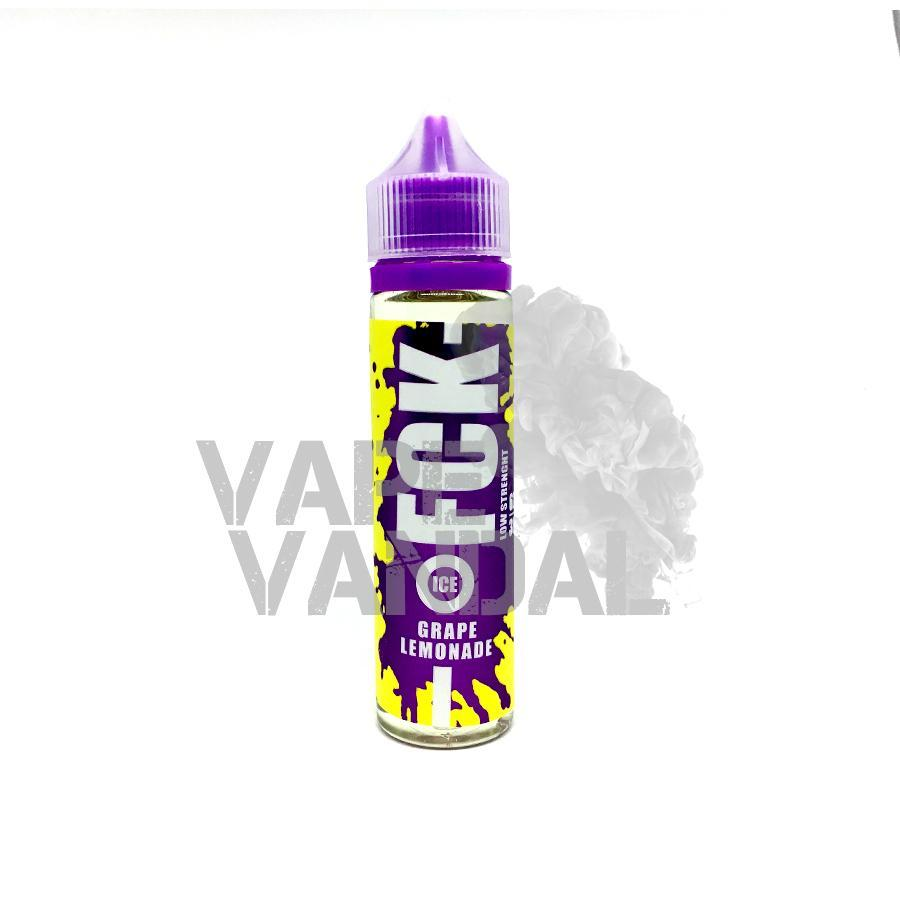 FCK Local E-Juice 3mg FCK - Grape Lemonade (Ice)