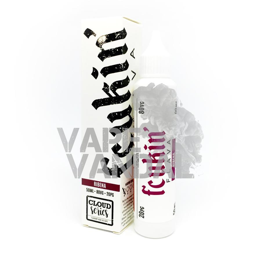 Fcukin Flava Local E-Juice 0mg Fcukin' Flava - Ribena (Cloud Series)