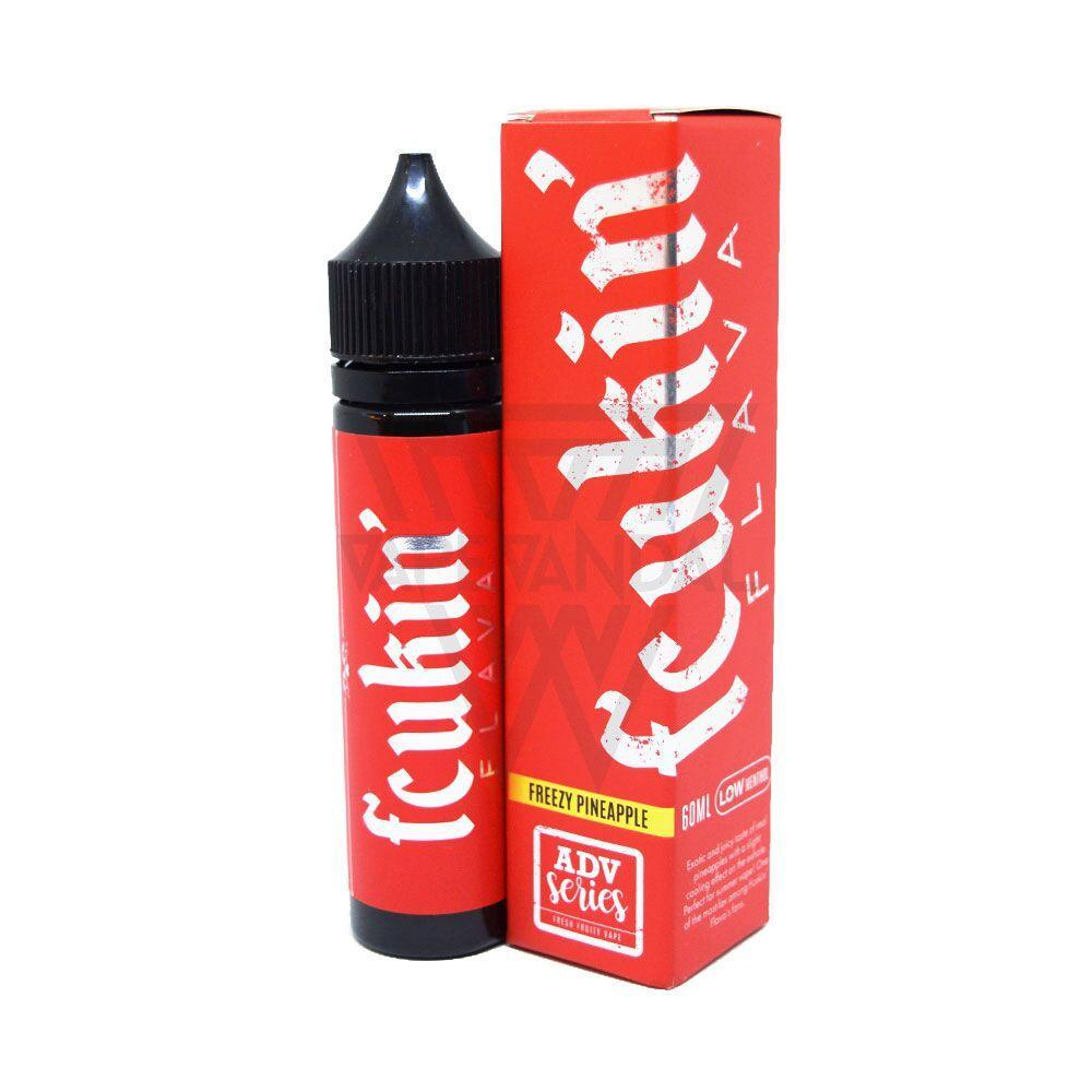 Fcukin Flava Local E-Juice 6mg Fcukin' Flava - Freezy Pineapple (Low Menthol)