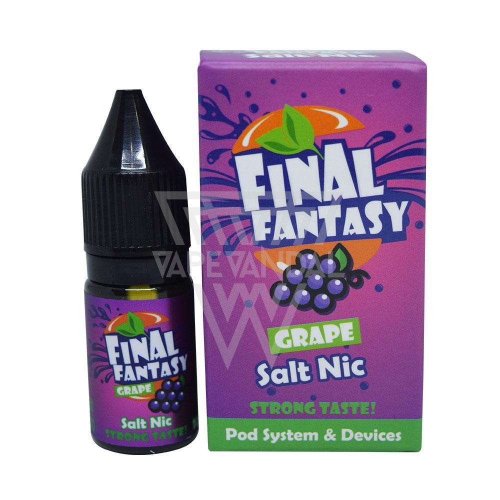 Final Fantasy - Grape Salt Nicotine - Vape Vandal - Malaysia's #1 vape e-juice store