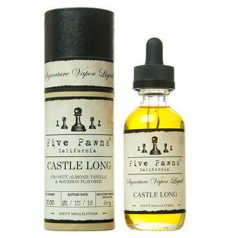 Five Pawns Imported E-Juice (US) 6mg Five Pawns (US) - Castle Long