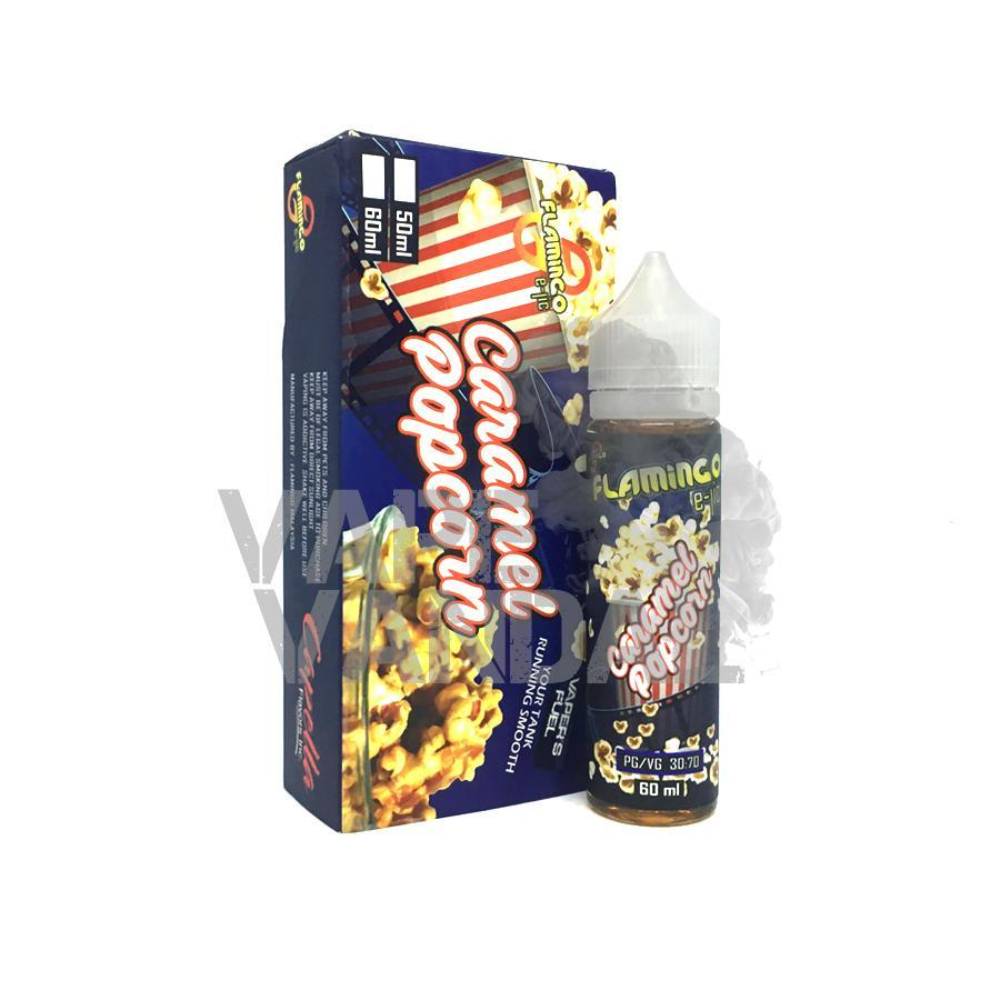 Flamingo Local E-Juice 6mg Flamingo - Caramel Popcorn
