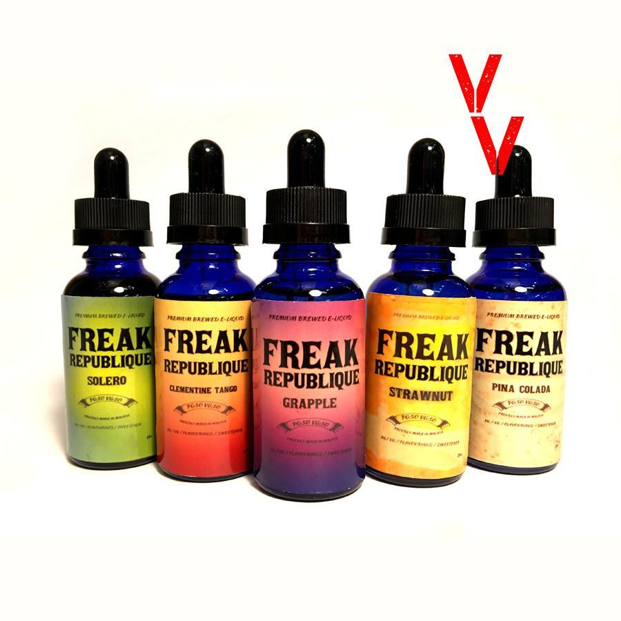Freak Republique - Sampler Bundle - Vape Vandal - Malaysia's #1 vape e-juice store