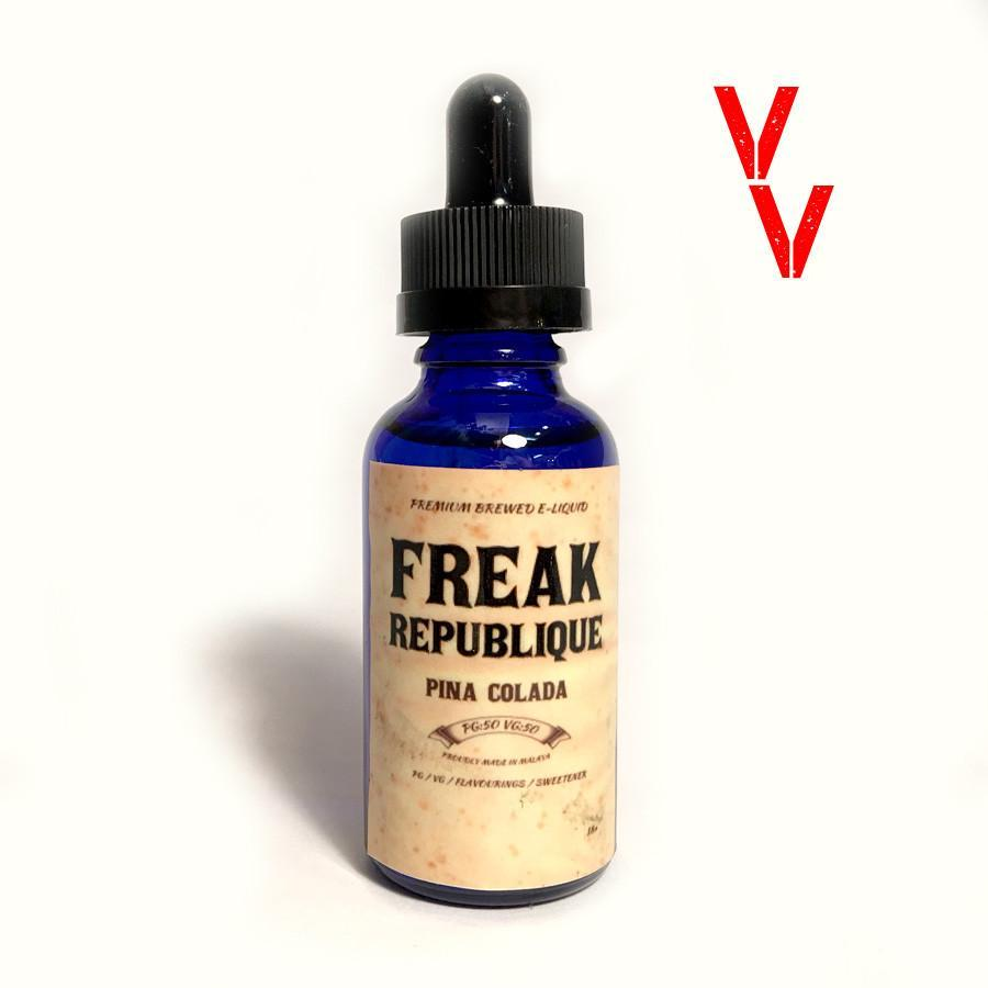 Freak Republique Local E-Juice Freak Republique - Pina Colada
