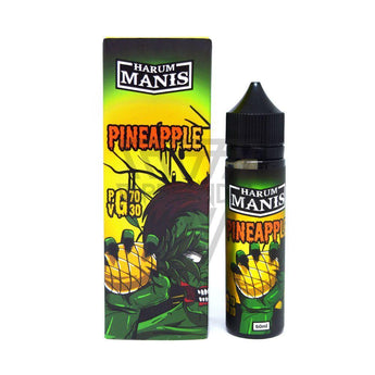 Harum Manis Local E-Juice 3mg Harum Manis - Pineapple
