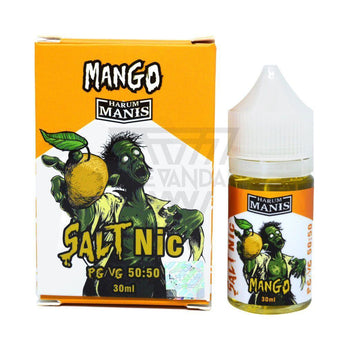 Harum Manis Local Salt Nicotine E-Juice 30mg Harum Manis - Mango Salt Nicotine