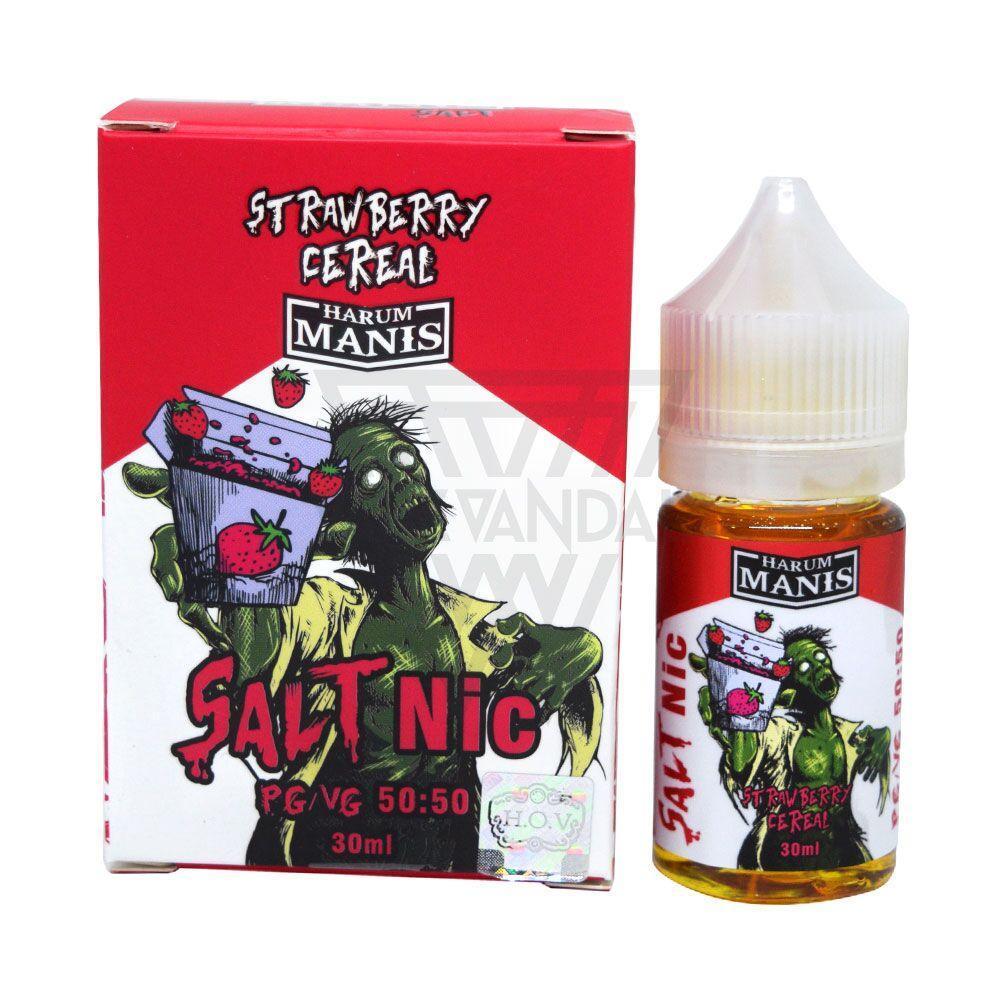 Harum Manis - Strawberry Cereal Salt Nicotine - Vape Vandal - Malaysia's #1 vape e-juice store
