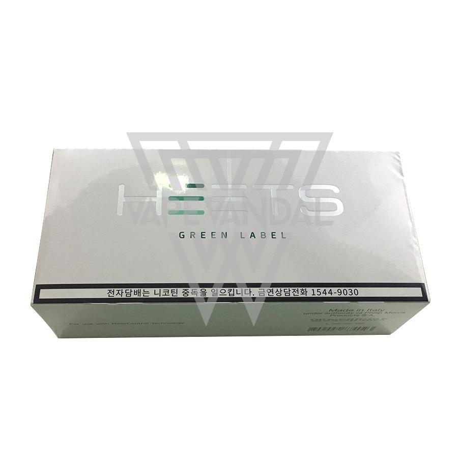 Heets iQOS Heat sticks Japan Heets - Green Label (iQOS)