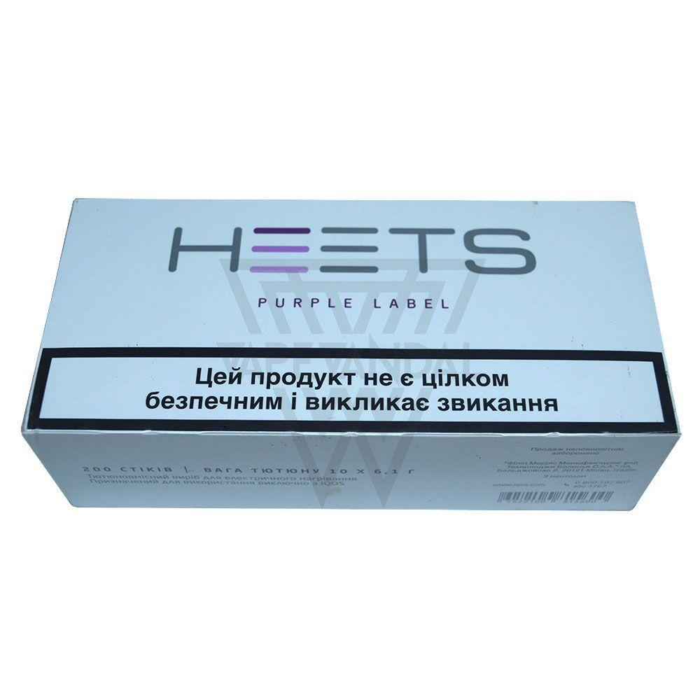 Heets iQOS Heat sticks Russia Heets - Purple Label (iQOS)