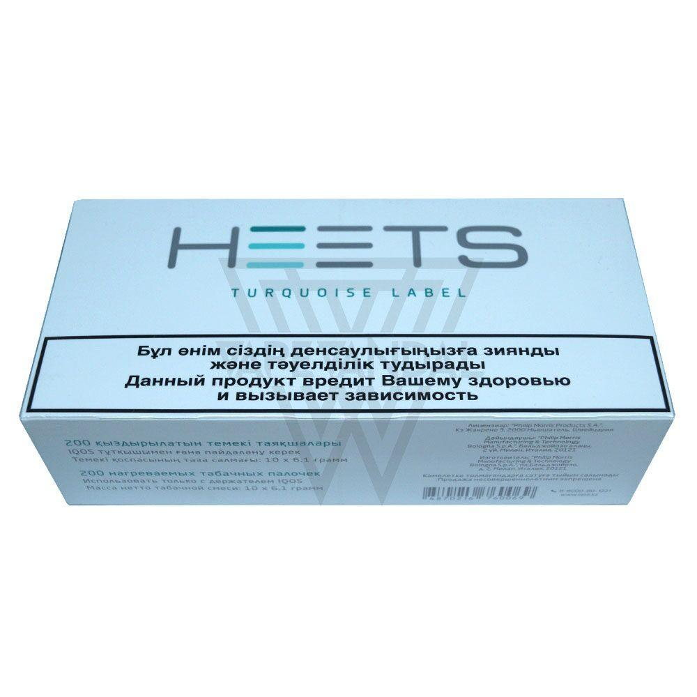 Heets iQOS Heat sticks Russia Heets - Turquoise Label (iQOS)