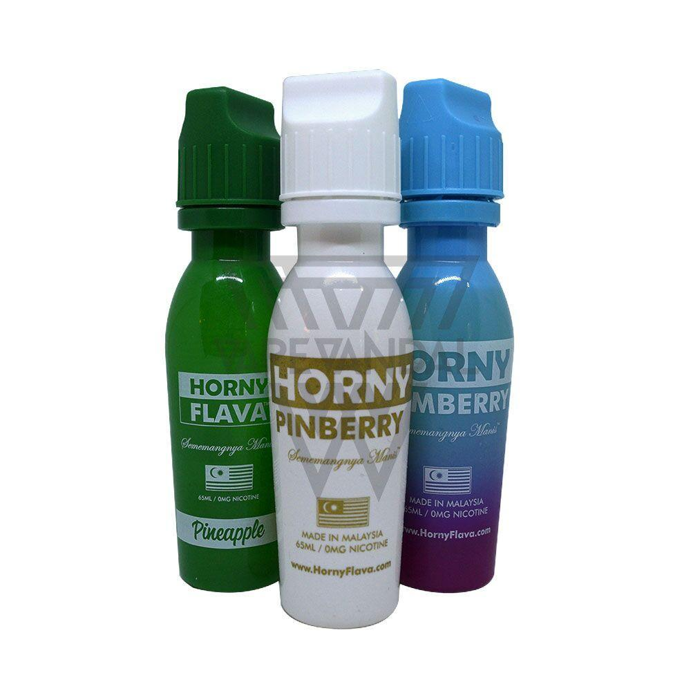 Horny Flava Local E-Juice 3mg Horny Flava - 65ml new sampler bundle
