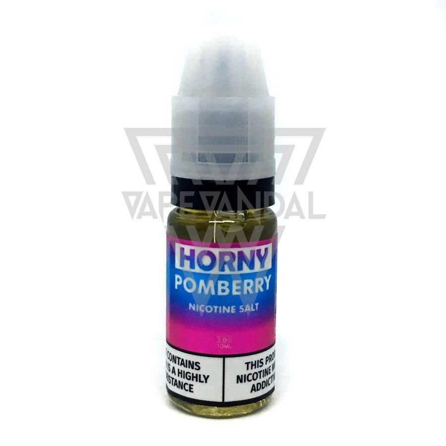 Horny Flava Local Salt Nicotine E-Juice 20mg Horny Flava - Horny Pomberry Salt Nicotine