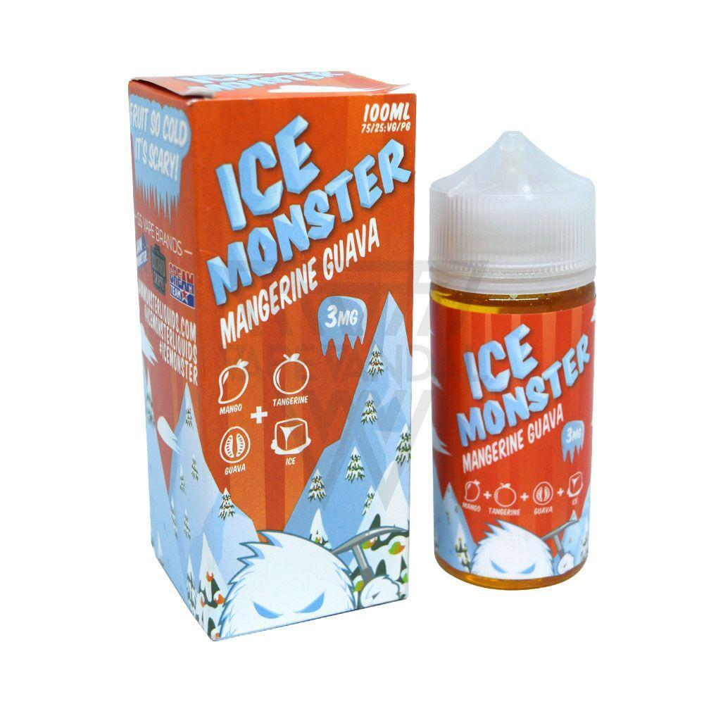 Ice Monster Imported E-Juice (US) 3mg Ice Monster - Margerine Guava